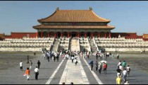 Clip of the Forbidden City in China.
