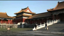 Clip of a corner of the Forbidden City in China.
