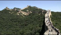 Badaling section of the Great Wall of China.