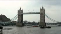Shot of the Tower Bridge in London.
