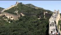 Section of the Great Wall of China at Badaling.
