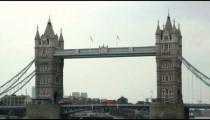 Tower Bridge in London, England.