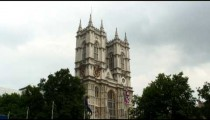 Westminster Abbey in London.