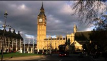 Big Ben and the Palace of Westminster in London.