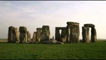 Shot of Stonehenge in England.