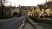 Royalty Free Stock Footage of Old village in England.