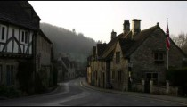 Royalty Free Stock Footage of Old stone buildings in the countryside of England.