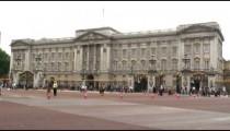Buckingham Palace in London England.
