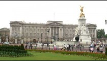Victoria Memorial and Buckingham Palace in London.
