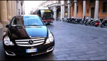 Royalty Free Stock Footage of Street in Milan Italy.