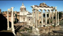 Ancient ruins of old Rome.