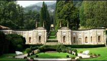 Italian garden near Lake Como.