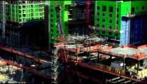 Shot of construction in downtown Salt Lake City Utah.