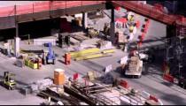 Men working at a construction site in Salt Lake City Utah.