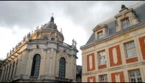 Time-lapse of the Royal Chapel at Versailles France.
