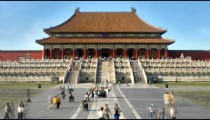 Time-lapse of the Forbidden City complex in China.
