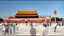 Tiananmen Square China time-lapse.