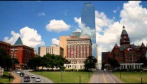 Time-lapse of a cityscape in Texas.