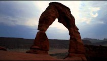 Time-lapse of Utah's Delicate Arch.
