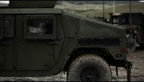 Humvee rolling out in mud