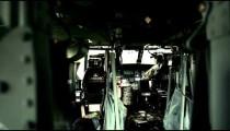 Pilots in Black Hawk helicopter