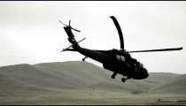 Black Hawk taking off.