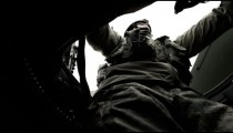 Shot in a Humvee up at the turret gunner while driving.