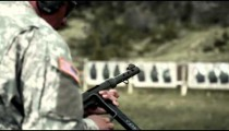 Soldier gets a jam in his MP40