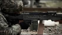 Multiple machine gun rapid fire