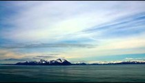 Time-lapse from a cruise ship in Prince William Sound, Alaska.