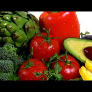 Rotating assortment of vegetables.