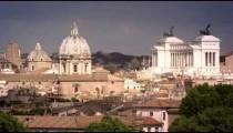 Time lapse of domes and Altare della Patria