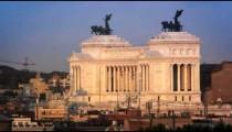 Distance footage of Victor Emmanuel monument