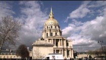 Street view of the Dome des Invalides.