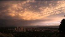Panorama of downtown Salt Lake City