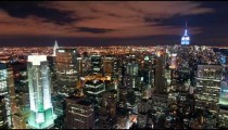 New York time-lapse from the Rockefeller building.