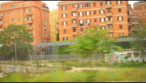 Graffiti from a train window in Italy