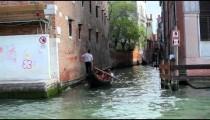 Shot from canal of venetian public school.