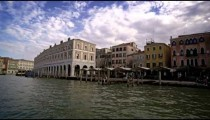 Cool buildings along the water, located in Venice