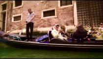 Slow motion shot of gondola