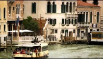 Boats and waterfront buildings in Venice