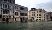 A quiet day on the Grand Canal waterfront.