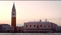 Static shot of Piazza San Marco and the Doge's palace.