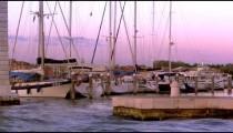 Boats in a Venetian Marina