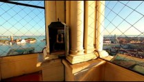 Inside St. Marks Tower in Venice, Italy