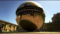 """Time lapse of """"Sphere within Sphere"""" rotating"""