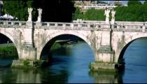 Close-up shot of Ponte Sant'Angelo