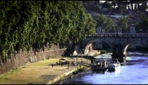 Ponte Sant'Angelo and dock