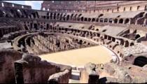 Interior of Roman Colosseum