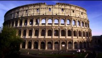Northern shot of Roman Colosseum
